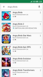 Samsung Galaxy S6 Edge - Android Nougat - Apps - Installieren von Apps - Schritt 16
