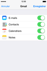 Apple iPhone 4S iOS 7 - E-mail - 032a. Email wizard - Gmail - Étape 10