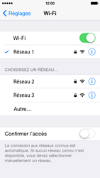 Apple iPhone 5s - iOS 8 - WiFi - Configuration du WiFi - Étape 9