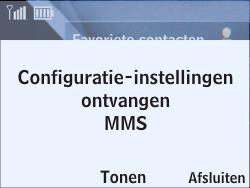 Nokia Asha 201 - MMS - automatisch instellen - Stap 3