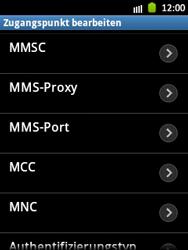 Samsung Galaxy Pocket - MMS - Manuelle Konfiguration - Schritt 10
