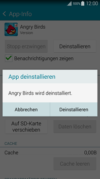 Samsung Galaxy Note 4 - Apps - Eine App deinstallieren - Schritt 7