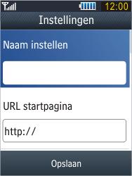 Samsung B3410 Star Qwerty - Internet - handmatig instellen - Stap 9