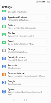 Huawei P Smart - Device - Factory reset - Step 5