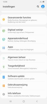 Samsung Galaxy A70 - software - update installeren zonder pc - stap 4