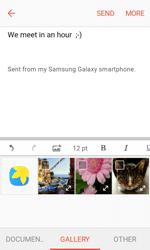 Samsung G389 Galaxy Xcover 3 VE - E-mail - Sending emails - Step 12
