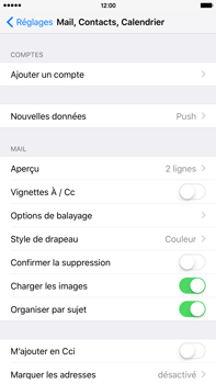 Apple iPhone 6 Plus iOS 9 - E-mail - 032c. Email wizard - Outlook - Étape 4