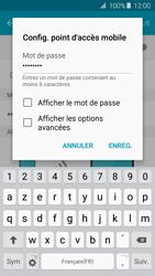 Samsung Galaxy A3 - A5 (2016) - Internet et connexion - Partager votre connexion en Wi-Fi - Étape 9