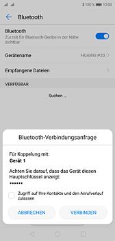 Huawei P20 - Bluetooth - Geräte koppeln - 9 / 11