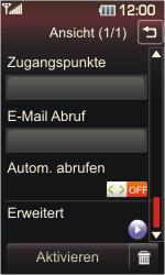 LG Cookie - E-Mail - Konto einrichten - 0 / 0