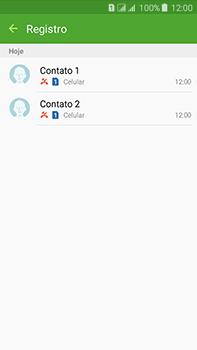 Samsung Galaxy J7 - Chamadas - Como bloquear chamadas de um número específico - Etapa 9