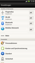 HTC One X - WLAN - Manuelle Konfiguration - 4 / 9