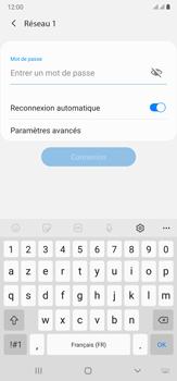 Samsung Galaxy Note20 Ultra 5G - Internet et connexion - Accéder au réseau Wi-Fi - Étape 8