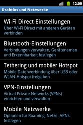 Samsung Galaxy Xcover - Netzwerk - Netzwerkeinstellungen ändern - 1 / 1