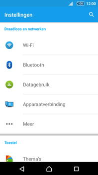 Sony Xperia Z5 Premium (E6853) - Netwerk - Handmatig netwerk selecteren - Stap 7