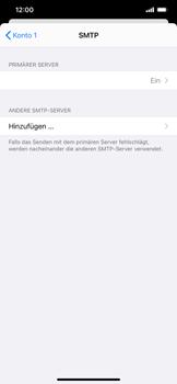 Apple iPhone 11 Pro Max - iOS 14 - E-Mail - Manuelle Konfiguration - Schritt 18