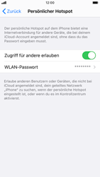 Apple iPhone SE (2020) - iOS 14 - WiFi - So aktivieren Sie einen WLAN-Hotspot - Schritt 8
