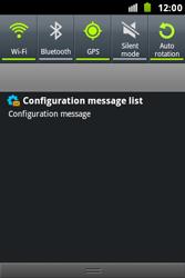 Samsung S7500 Galaxy Ace Plus - Internet - Automatic configuration - Step 4