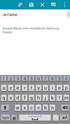 Samsung G900F Galaxy S5 - E-mail - envoyer un e-mail - Étape 9