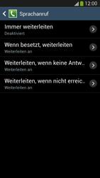 Samsung Galaxy S4 LTE - Anrufe - Rufumleitungen setzen und löschen - 9 / 12