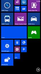 Nokia Lumia 1320 - Startanleitung - Personalisieren der Startseite - Schritt 10