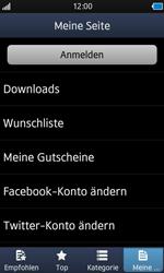 Samsung Wave - Apps - Konto anlegen und einrichten - 5 / 18