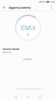 Huawei Mate 9 - Software - Installazione degli aggiornamenti software - Fase 5