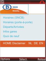 Nokia X2-00 - Internet - Navigation sur Internet - Étape 14