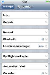 Apple iPhone 4 - Internet - aan- of uitzetten - Stap 4