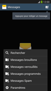 Samsung N9005 Galaxy Note III LTE - SMS - Configuration manuelle - Étape 5