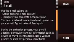 Nokia N97 Mini - E-mail - Manual configuration - Step 8