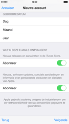 Apple iPhone 6 iOS 8 - Applicaties - Account aanmaken - Stap 18