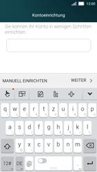 Huawei Y5 - E-Mail - Konto einrichten - Schritt 7