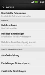 HTC Desire 500 - Anrufe - Rufumleitungen setzen und löschen - 5 / 9