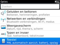 BlackBerry 9780 Bold - Instellingen - ontvangen via SMS - Stap 4