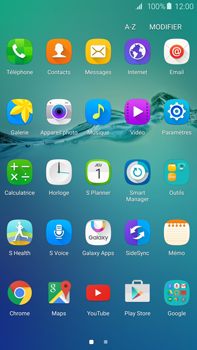 Samsung G928F Galaxy S6 Edge + - Messagerie vocale - Configuration manuelle - Étape 3