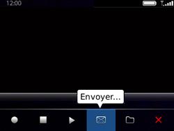 BlackBerry 9320 - Photos, vidéos, musique - Créer une vidéo - Étape 11