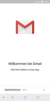 LG G6 - Android Oreo - E-Mail - Konto einrichten (gmail) - Schritt 4