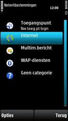 Nokia X6-00 - Internet - handmatig instellen - Stap 6