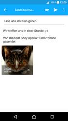 Sony E5823 Xperia Z5 Compact - E-Mail - E-Mail versenden - 0 / 0