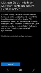 Microsoft Lumia 650 - Apps - Konto anlegen und einrichten - 18 / 20
