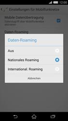 Sony Xperia Z2 - Ausland - Im Ausland surfen – Datenroaming - Schritt 9