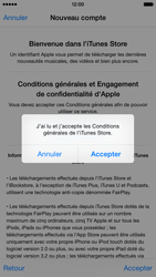Apple iPhone 6 - Applications - Créer un compte - Étape 12