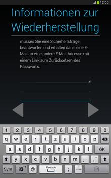 Samsung N5100 Galaxy Note 8-0 - Apps - Konto anlegen und einrichten - Schritt 15