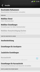 HTC One Max - Anrufe - Rufumleitungen setzen und löschen - Schritt 5