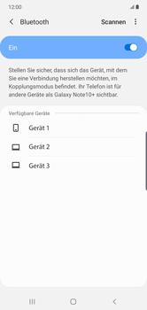 Samsung Galaxy Note 10 Plus 5G - Bluetooth - Verbinden von Geräten - Schritt 7