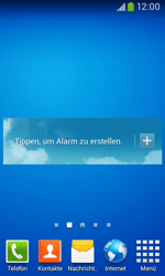 Samsung Galaxy Ace III - Startanleitung - Installieren von Widgets und Apps auf der Startseite - Schritt 8