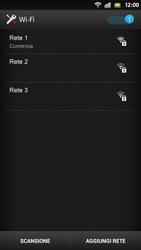 Sony Xperia S - WiFi - Configurazione WiFi - Fase 8
