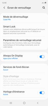 Samsung Galaxy S20 FE - Sécuriser votre mobile - Activer le code de verrouillage - Étape 13