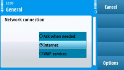 Nokia N97 - Internet - Manual configuration - Step 22